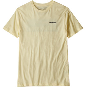 Patagonia P-6 Logo Organic T-Shirt Men Resin Yellow